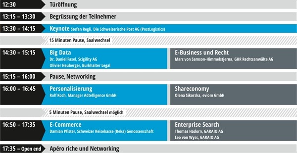 Programm E-Business Konferenz